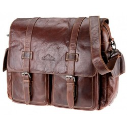 Aosta Business bag Brandy