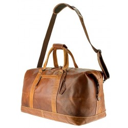 Alabama Travel bag Cognac