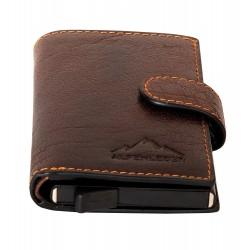 Pánska peňaženka Card Lift Easy Brandy