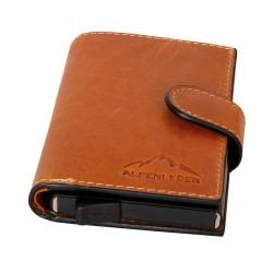 Pánska peňaženka Card Lift Easy Cognac