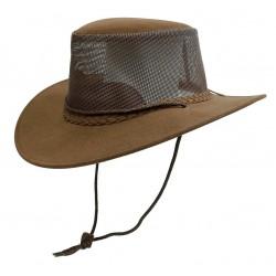 SOAKA BREEZE Brown austrálsky klobúk