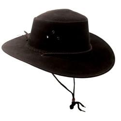 KAKADU SOAKA Black austrálsky klobúk